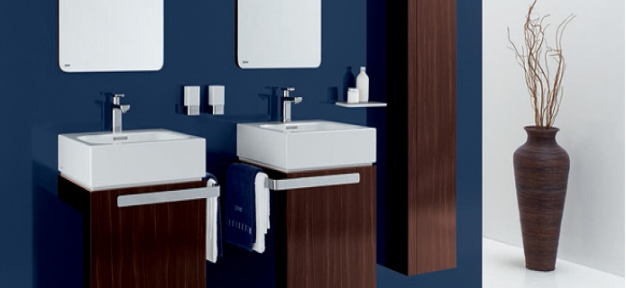 brown and blue bathroom decor my web value. Black Bedroom Furniture Sets. Home Design Ideas