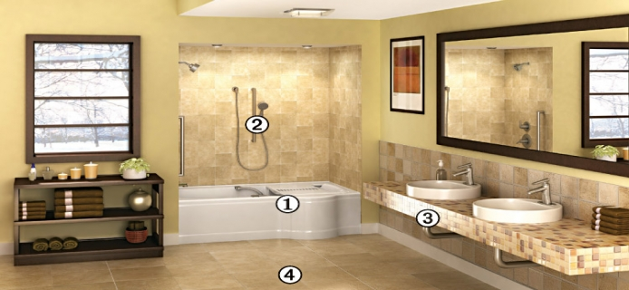 Universal Design NJ Bathroom Remodeling